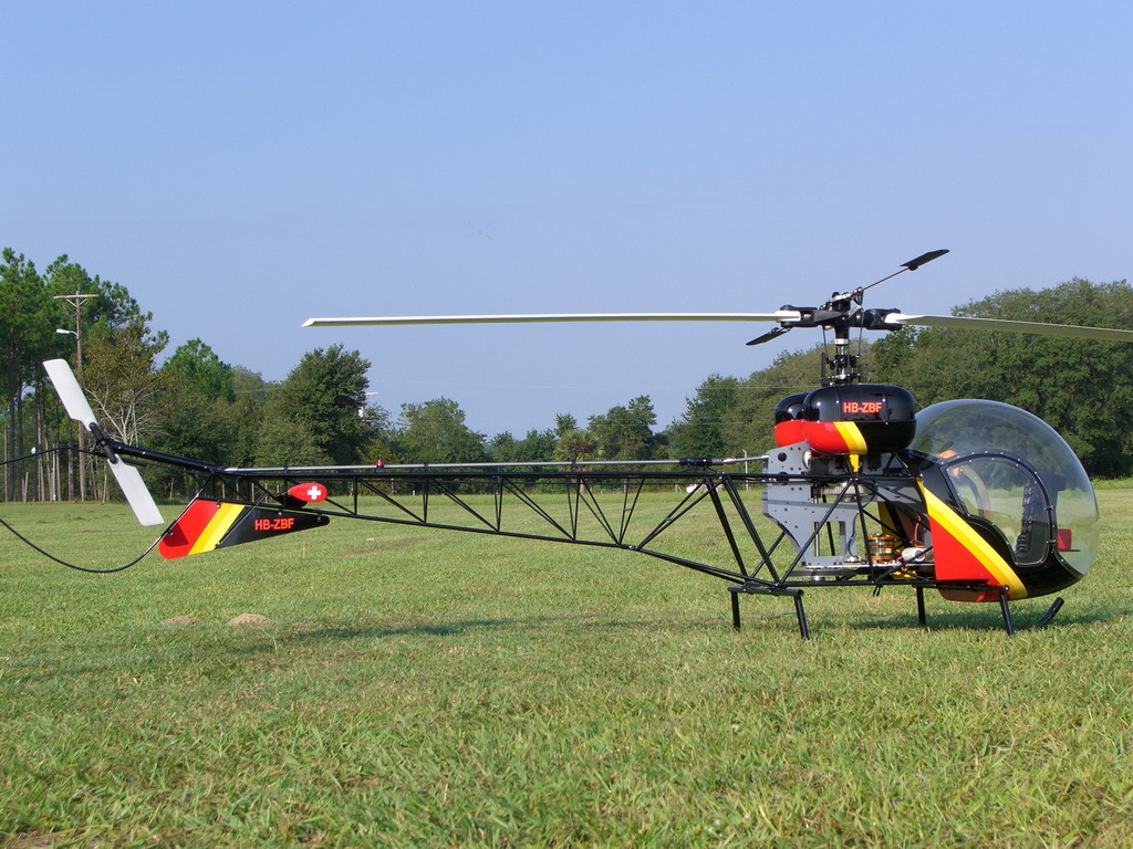 Scale heli electric 1 4 scale 47g page 1 - Runryder rc heli ...